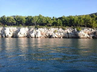 Panoramic boat tour around Split